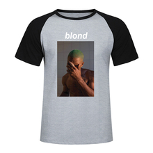 Frank Ocean T Shirt 2019 New Summer Fashion Men Casual Raglan Short Sleeve T-Shirt Harajuku Hip Hop T Shirt Men Streetwear lace trim raglan sleeve t shirt