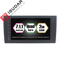 Android 7 1 1 Two Din 8 Inch Car DVD GPS Video Player For Porsche Cayenne