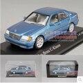 Mercedes-Benz C-CLASS W202 Minichamps 1:43 1997 BENZ модель автомобиля сплава diecast коллекция игрушка мальчик подарок синий бесплатная доставка