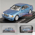 Mercedes-benz C-CLASS W202 Minichamps 1:43 1997 BENZ aleación diecast car model collection toy regalo del muchacho azul del envío libre