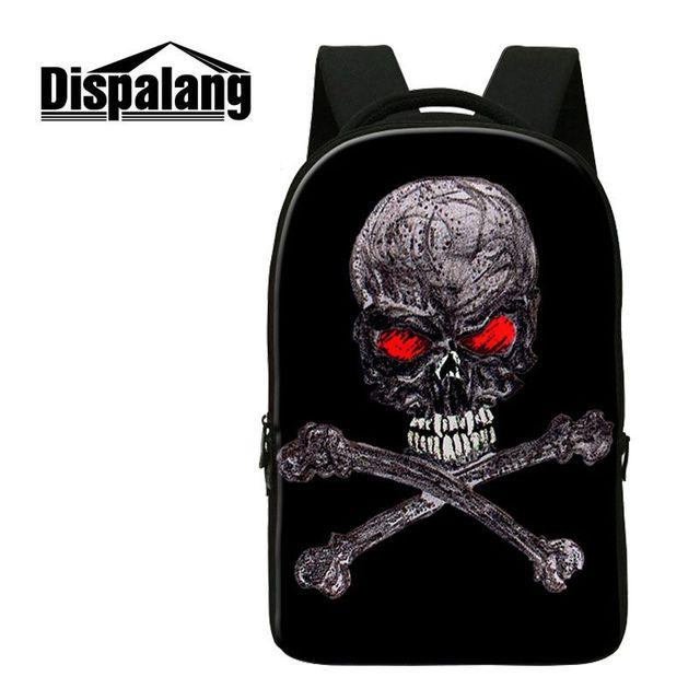 9971c9570354 US $34.16 33% OFF|Dispalang Street Rock Backpack Men Punk Backpack Azrael  Skull Backpacks For Teens Girls Boys School Bags Hip Hop Daily Backpacks-in  ...