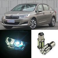 Ownsun 2 יחידות מתקדם LED רוחב מנורות הנורה רכב טרז אור אזהרה עבור סיטרואן C4L