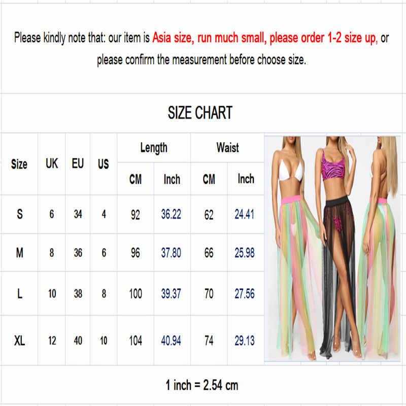 Wanita Chiffon Beach Cover Up Baju Renang Tipis Sarung Zaful Pantai Transparan Wanita Bikini Cover-Up Baju