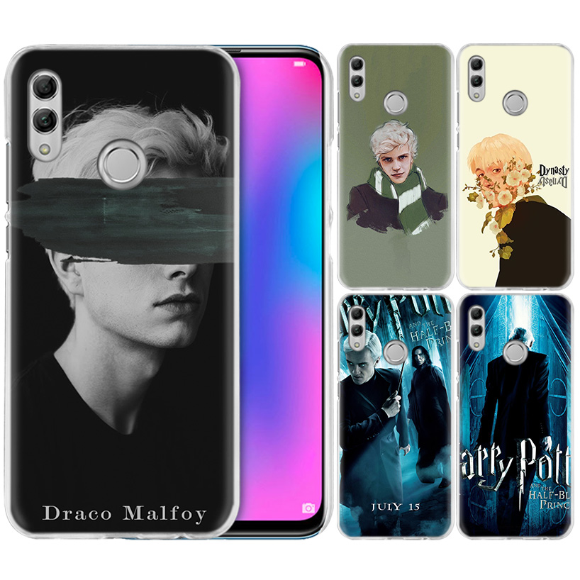 Draco Malfoy Case For Huawei Honor 8X Y9 9 10 Lite Play 7C 8C 8S 8A 7S 7A Pro V20 20i Y6 Y7 Y5 2019 Hard PC Casos Phone Cover