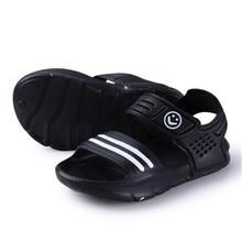 Сандалии для новорожденных мальчиков и девочек; летняя детская обувь; Повседневная модная обувь для маленьких девочек; сандалии и сабо в полоску; 3 цвета; верхняя одежда