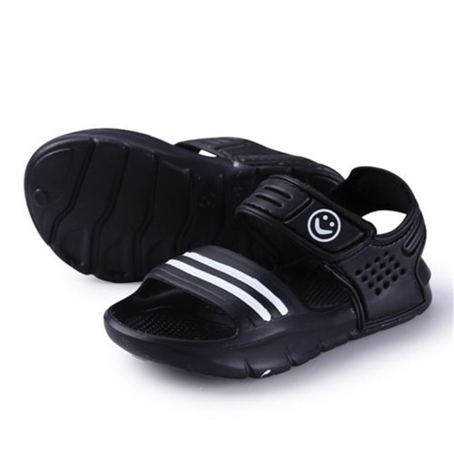 9b638b583d Newborn Baby Boys Girl Sandals Summer Baby Shoes Casual Fashion Babe Girl  Shoes Sandals & Clogs Striped 3 Color Clothes Outwear
