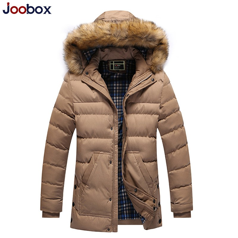 2017 Korean Style New Fashion Zip Jacket Mens Winter Coat With Pockets Jaqueta Masculina Inverno Parka Masculina Male Camperas