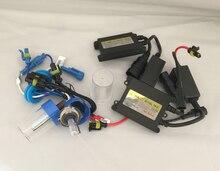 55W HID Xenon Kit Car Headlight Xenon Slim Ballast Metal Bulb Light Lamp for H1 H3 H7 H8 H11 H13 HB4 HB3 9005 9006 4300K 6000K