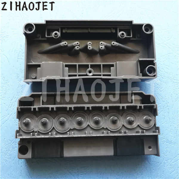 Baik kualitas penutup kepala DX5 eco solvent/printhead manifold/adapter/cap untuk dx5 kepala sampul 1 pc retail