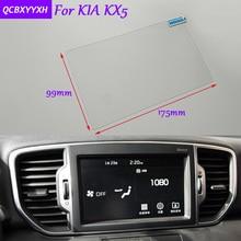 De coches de Estilo 8 Pulgadas de Navegación GPS de Pantalla de Cristal Película Protectora pegatina Para KIA KX5 KX3 Auto Accesorios de Control de LCD pantalla