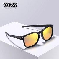 20/20 A Estrenar gafas de Sol Polarizadas de Los Hombres Gafas de Sol Unisex TR90 Marco Cuadrado Lente Roja Mujeres 5 Colores Gafas de sol Gafas 518