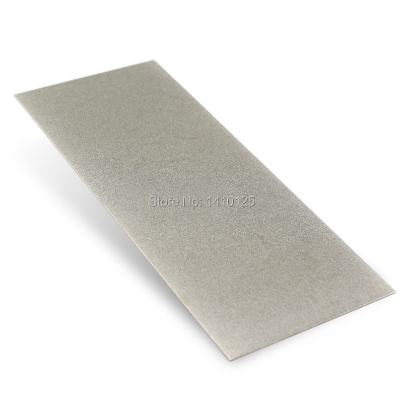 80x200x1mm 8 inch Grit 240 600 1000 Rectangular Flat Diamond Stone Sharpeners Grinding Carving Knife Sharpening Lapidary Tools 3pcs 2 6 inch grit 240 600 1000 kit thin flat diamond stone sharpeners knife fine medium coarse