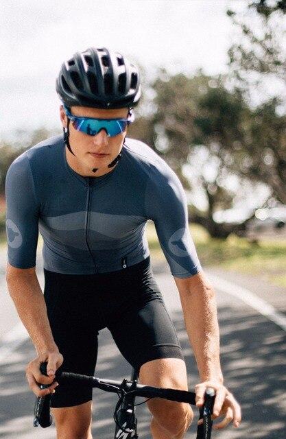 Top quality 2018 Black sheep COOL bike clothes short sleeve cycling wear  for men PRINT road cycling Jersey set 4D gel pad 0a35f4b09