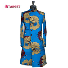 African Clothes for Men Long Sleeve Coat man Festive For Party Customize Fashion Causal Dashiki african clothes  WYN582