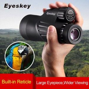 Image 1 - Eyeskey 10x50 Built in Reticle Rangefinder Monocular Telescope Waterproof Nitrogen Camping Hunting Scopes with Bak4 Prism