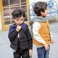 Meninos das meninas do bebê colete colete colete de criança Casacos crianças colete menino meninas denim colete Outono 2016 das crianças roupas de inverno