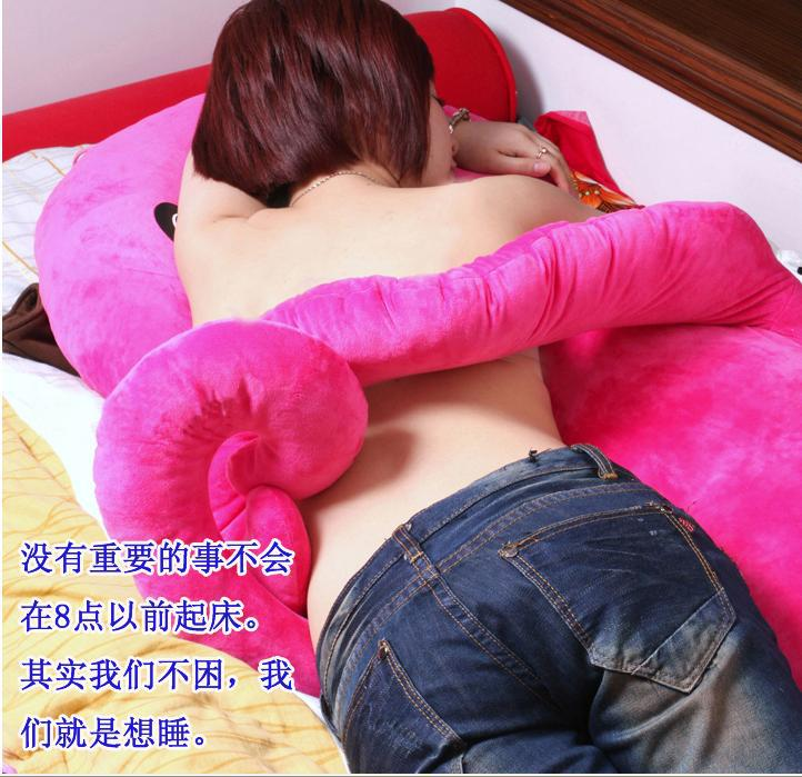 large 130cm cartoon octopus throw pillow plush toy cushion rose red octopus doll gift w5379 1pcs 52 26cm creative novelty item funny women big mouth shape cushion pink red lip plush toy throw pillow for couch pregnancy