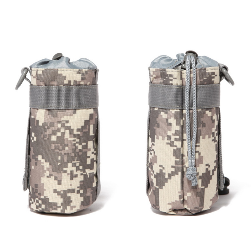 Image 2 - 550ML Water Bottle Pouch Tactical Molle Kettle Pouch Pocket Water Bottle Holder Army Gear Bag 6 Colors new-in Water Bags from Sports & Entertainment