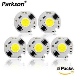 5 шт COB светодиодный лампы Чип 220 V 240 V IP65 смарт-ic драйвера не светодиодная лампочка прожектор 3 W 5 W 7 W 10 W 12 W Diy освещение