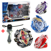 4pcs Set Beyblade Metal Funsion 4D B34 B35 B41 B59 With Launcher And Handle Spinning Top