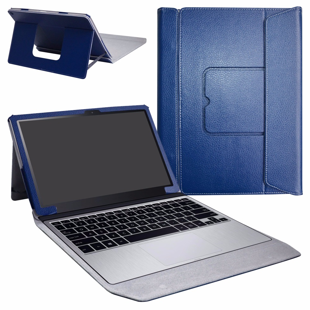 PU Leather Romovable Folio Stand Magnetic Tablet Case For 12.6 Asus Transformer Pro T304UA Windows 10 Pro Tablet Cover