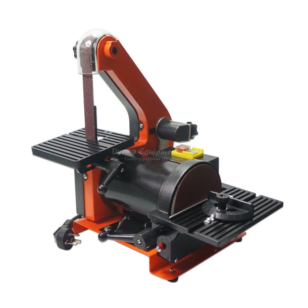 Belt Disc Sander 25*750mm Belt 5 125mm Disc Sander rotary sander Q10059 5inch this fall 125mm pneumatic sander disc sandpaper machine bd 0142