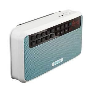 Image 4 - カードラジオポータブルミニ Bluetooth スピーカーワイヤレスハンズフリー Fm ラジオサポート TF カードプレイとレコーダーと懐中電灯