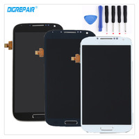 AAA High Quality Black White Blue For Samsung Galaxy S4 I9505 LCD Display Touch Screen Digitizer