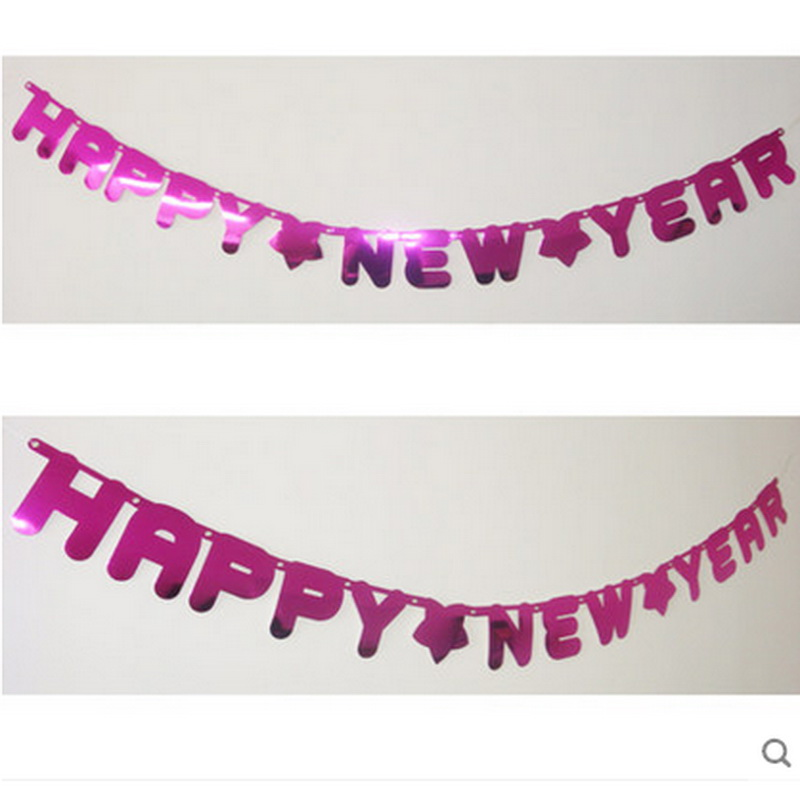 hot sale happy new year flags bunting banner holiday party events decoration dus on aliexpresscom alibaba group