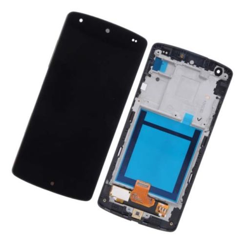 New LCD Touch Screen Digitizer with Frame Assembly for LG Google Nexus 5 D820 D821 free shipping 4 95 for lg google nexus 5 d820 d821 lcd screen display touch screen digitizer assembly frame free shipping