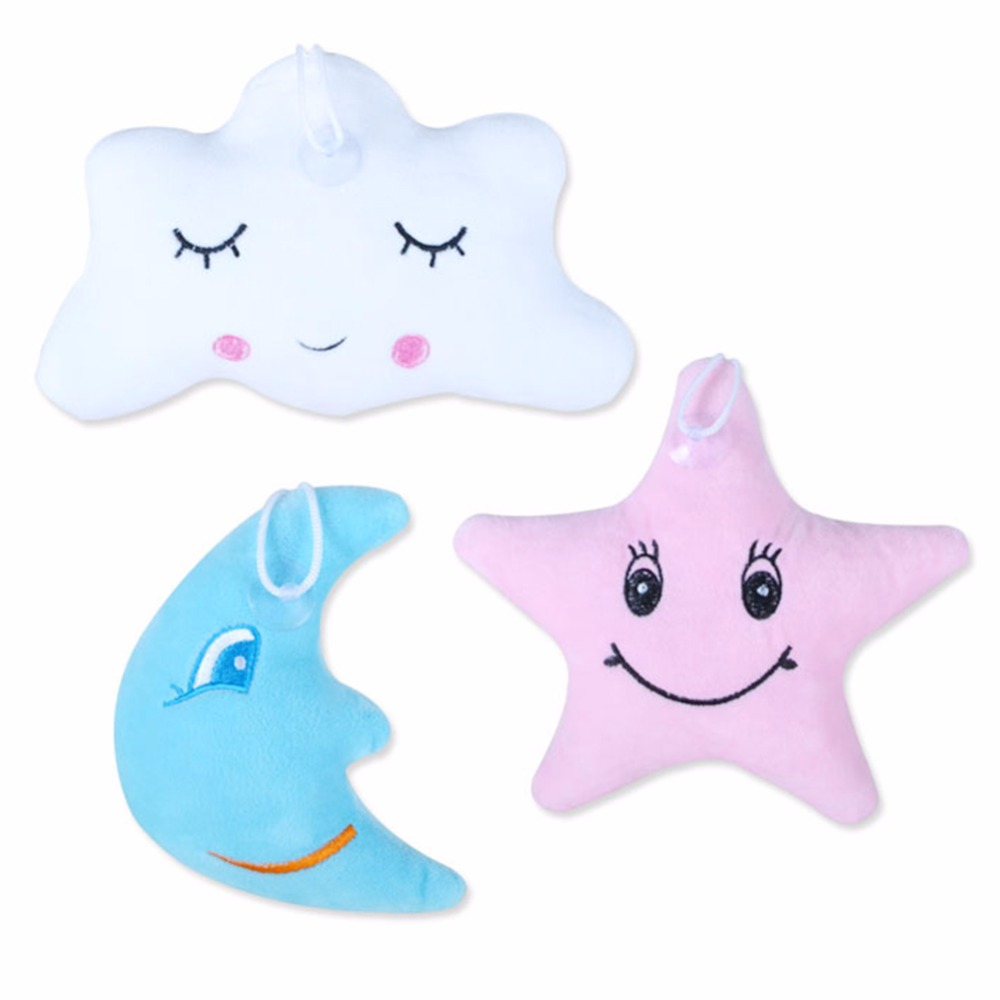 Creative Baby Pillow Cute Cartoon Star Moon Cloud Sleep Pillows With Smile Lovely Child Kids Plush Toy Cushion Princess Doll
