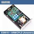 Es9018 + / CPLD ( Amanero USB ) цап декодер + TPA6120A2 усилитель для наушников за XMOS u8, Поддержка PCM384K / DSD