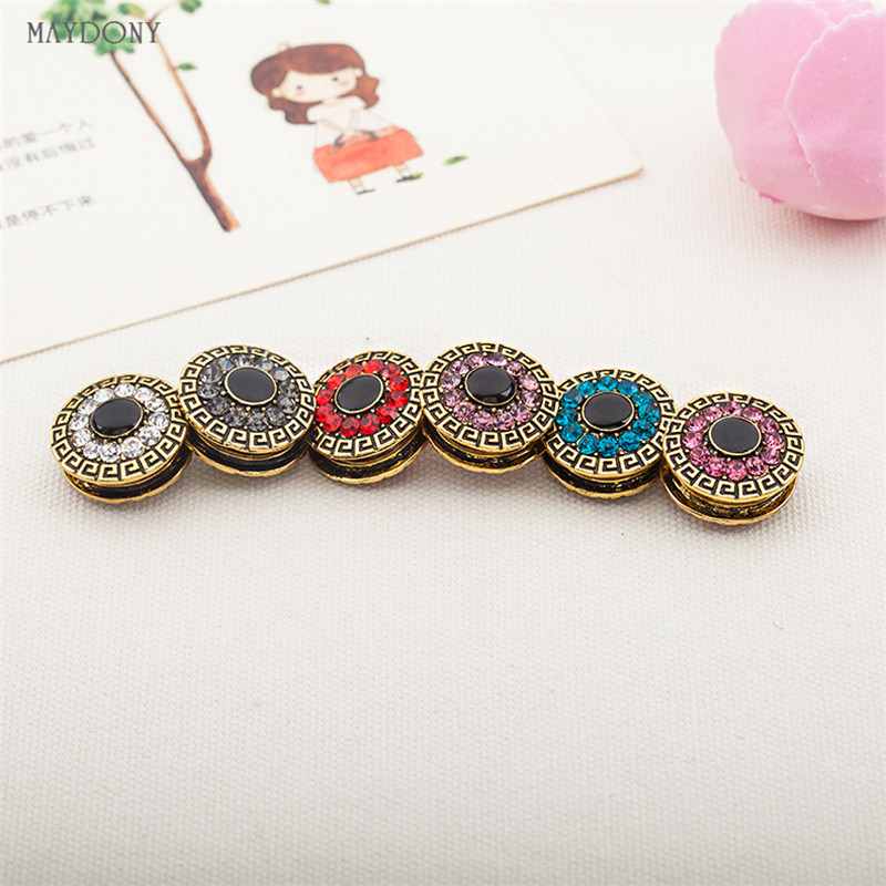XT57  Fashion Headwear Scarf Magnet Brooch Hijab Clips