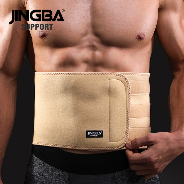 JINGBA SUPPORT Back Waist Support Waist trimmer Slim fit Abdominal Waist sweat belt Sports Safety Sports protective gear 1