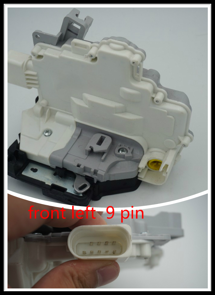 OE 8J1837015A 3C1837015A FRONT LEFT CENTRAL DOOR LOCK LATCH ACTUATOR MECHANISM FIT FOR VW PASSAT B6 SKODA SUPERB A4 A5 Q5 Q7 TT