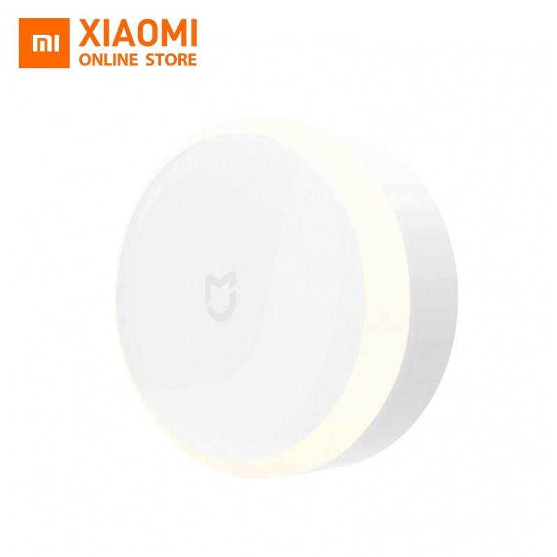 Оригинальный Xiaomi Mijia светодиодный коридор ночник инфракрасный пульт дистанционного Управление движения тела Сенсор Smar Главная ночника Магнитные Смарт