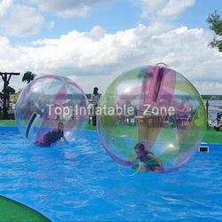 Free shipping inflatable water walking ball 2m dia water roller ball for kids and adults hot sale inflatable water toys cheap