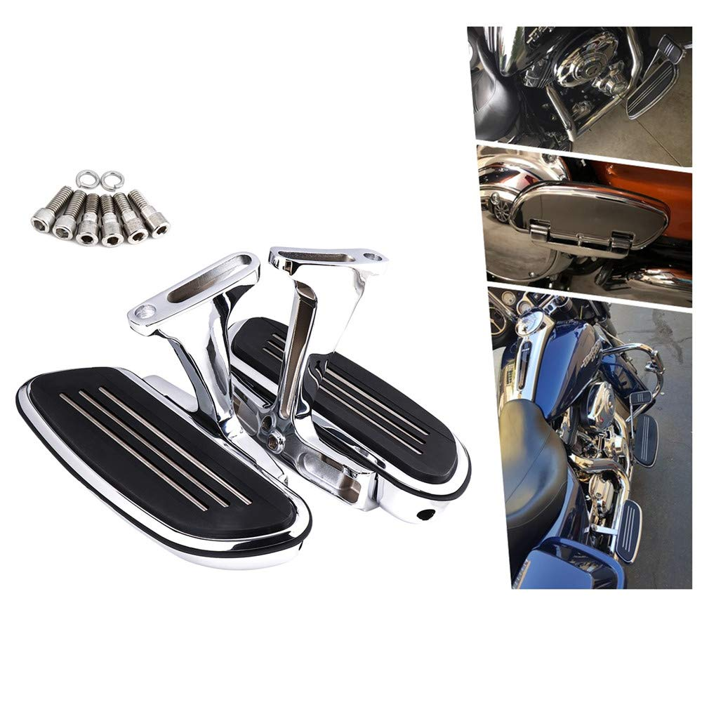 Passenger Footboard Floor Boards Mount Bracket Kits for Road King Street Glide Electra Glide Touring Models