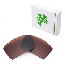 Mryok POLARIZED Replacement Lenses for Oakley Eyepatch 1 2 Sunglasses Bronze Brown