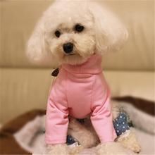 For pets Dog T-shirt spring and summer Small dog clothes Pure pretty comfortable