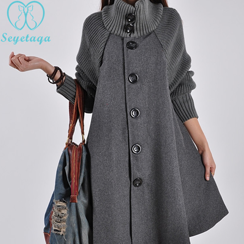 010# 2018 Autumn Winter New Korean Fashion Maternity Cloak Coat Woolen Outwear Clothes for Pregnant Women Loose Pregnancy Trench women single breasted long cashmere coat 2017 new woolen coat women winter jacket overcoat female outwear casaco feminino trench