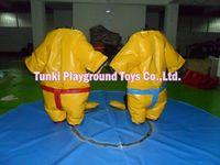 Спортивные костюмы для Реслинга сумасшедший надувные ПВХ костюм сумо для детям или взрослым и детей