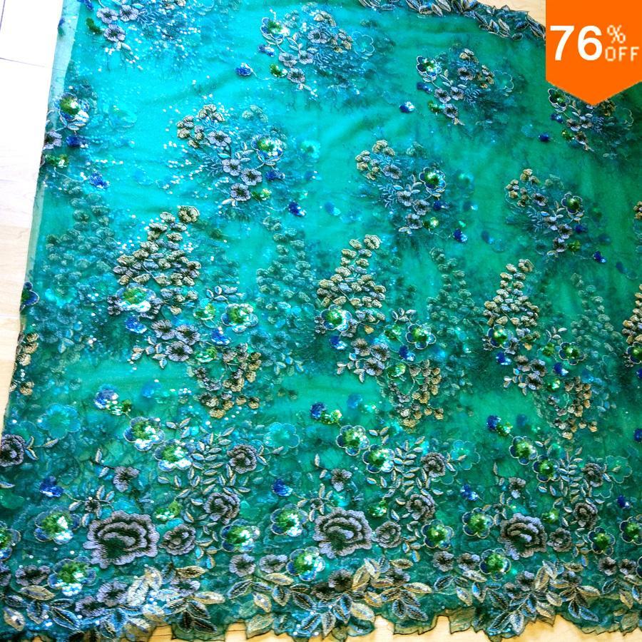 Hot Cover filc organza cvet afriška tkanina, vezenje tkanine - Umetnost, obrt in šivanje - Fotografija 1