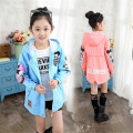 Baby children jackets for girls Minnie coat long cotton child windbreaker for girl clothes autumn spring outfit 6 8 10 12 years