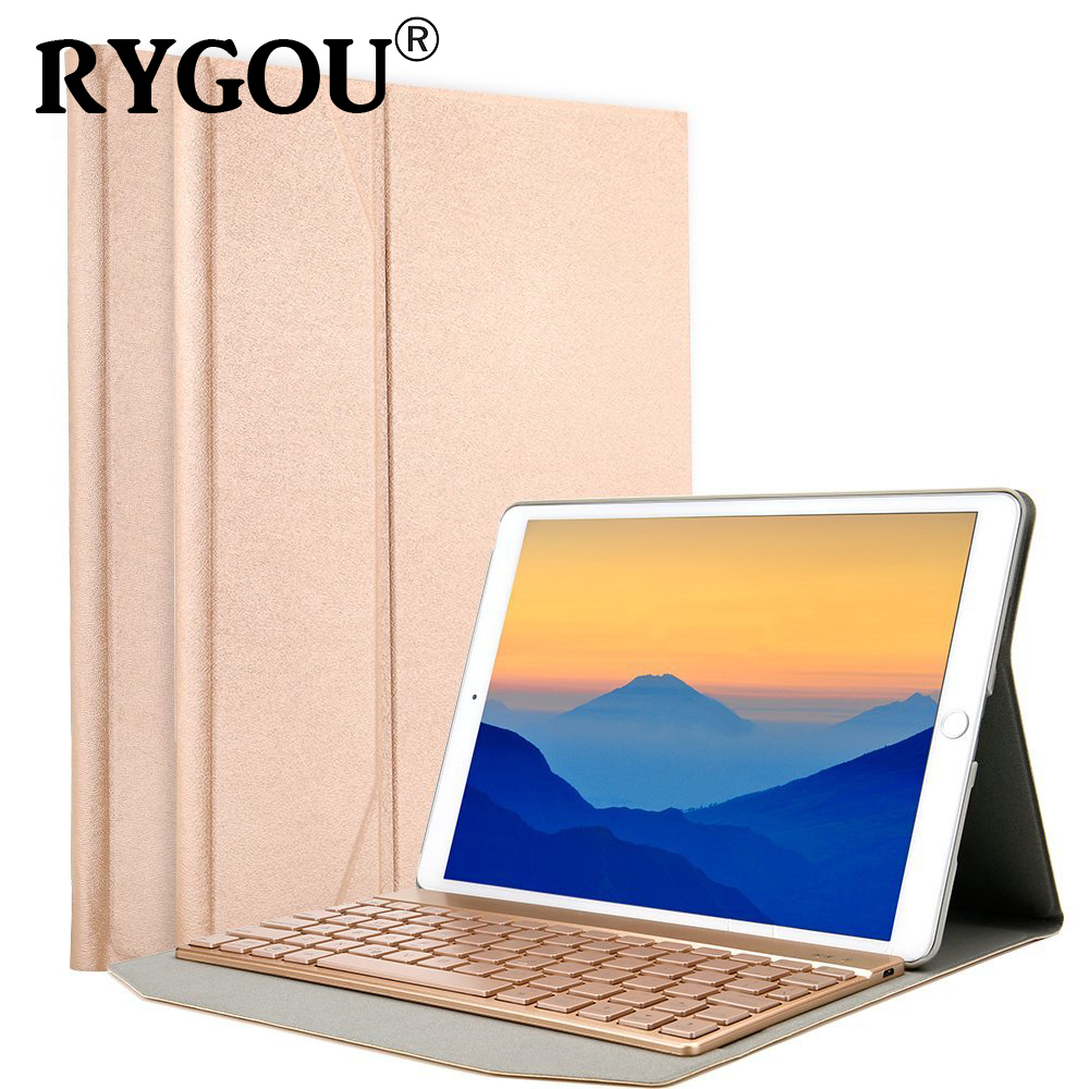 For iPad Pro 10.5 Case with Keyboard, Trifold Case with Back Cover and Typing Keyboard for New Apple iPad Pro 10.5 inch 2017 new ru for lenovo u330p u330 russian laptop keyboard with case palmrest touchpad black