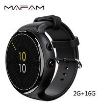 MAFAM 3G Smart Wristband Watch Phone 2GB 16GB 5MP Camera Voice Search Pedometer Heart Rate Monitor I4 Air