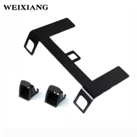 For Chery QQ Car Seat ISOFIX LATCH Belt Interfaces Guide Bracket Retainer Holder For Child Safety Seat