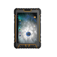 Прочный Планшеты Водонепроницаемый PC QR 1D 2d лазерный сканер штрих кода android портативный мобильный КПК UHF RFID NFC отпечатков пальцев GPS
