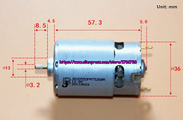 High Speed 12 Volt Cooling Fans : Brand new dc motor high speed large power v rpm