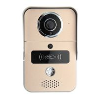 Safurance Wireless Smart Visual Video WIFI Camera Intercom Door Bell Phone Night Security Home Safety RFID